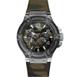 Buy Men's Guess Watch Rigor W0407G1 Camouflage Multifunction