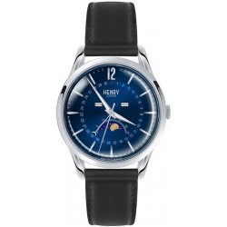 Buy Unisex Henry London Watch Knightsbridge HL39-LS-0071 Moonphase Quartz