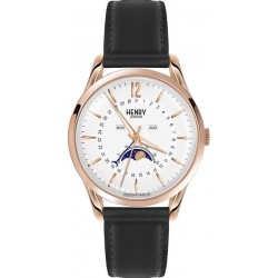 Buy Unisex Henry London Watch Richmond HL39-LS-0150 Moonphase Quartz