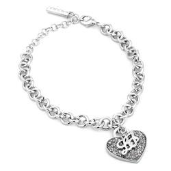 Buy Women's Liu Jo Luxury Bracelet Illumina LJ918 Heart