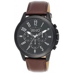 Men's Liu Jo Luxury Watch Jet TLJ826 Chronograph