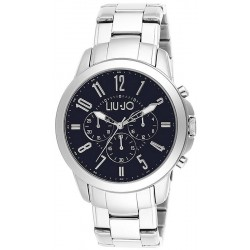 Buy Men's Liu Jo Luxury Watch Jet TLJ829 Chronograph