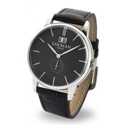 Buy Men's Locman Watch 1960 Gran Data Quartz 0252V01-00BKNKPK