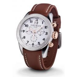 Buy Men's Locman Watch Isola d'Elba Quartz Chronograph 0460M08-0RWHBKPN