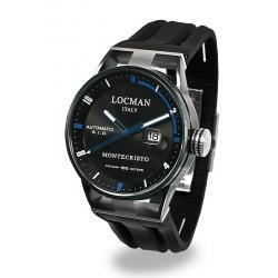 Buy Men's Locman Watch Montecristo Automatic 0511KNBKFBL0GOK