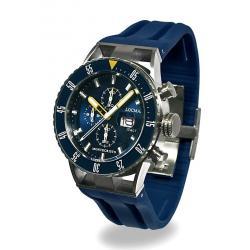 Buy Men's Locman Watch Montecristo Professional Diver Chronograph 051200BYBLNKSIB