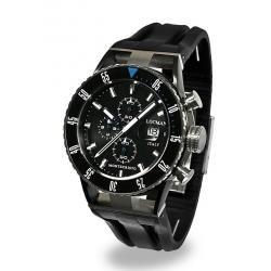 Buy Men's Locman Watch Montecristo Professional Chronograph 0512KNKBBKNKSIK
