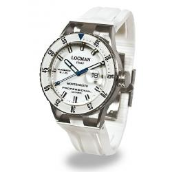 Buy Men's Locman Watch Montecristo Professional Diver Automatic 051300WBWHNKSIW