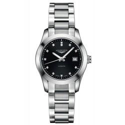 Women's Longines Watch Conquest Classic L22854586 Diamonds Automatic