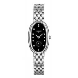 Buy Women's Longines Watch Symphonette L23064576 Diamonds Quartz