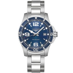 Buy Men's Longines Watch Hydroconquest L37404966 Quartz