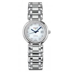 Buy Women's Longines Watch Primaluna L81110876 Diamonds Mother of Pearl Automatic