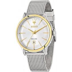 Buy Men's Maserati Watch Epoca R8853118001 Quartz