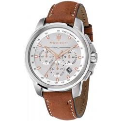 Buy Men's Maserati Watch Successo R8871621005 Quartz Chronograph