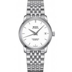 Buy Women's Mido Watch Baroncelli III COSC Chronometer Automatic M0272081101100