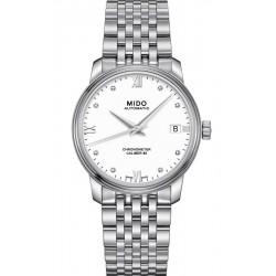 Buy Women's Mido Watch Baroncelli III COSC Chronometer Automatic M0272081101600