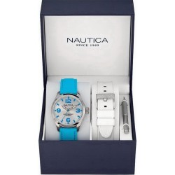 Unisex Nautica Watch BFD 102 MID Box Set A11628M