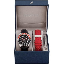 Men's Nautica Watch NST 07 Box Set A14670G Multifunction