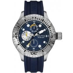 Buy Men's Nautica Watch BFD 100 Box Set NAI17512G Multifunction