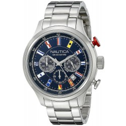 Men's Nautica Watch NCT 16 Flag NAI17516G Chronograph