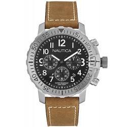 Men's Nautica Watch NMS 01 USS NAI18506G Chronograph