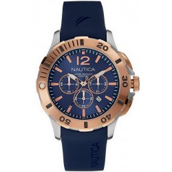 Buy Men's Nautica Watch BFD 101 Dive Style NAI19506G Chronograph