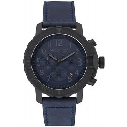 Men's Nautica Watch NMS 01 USS NAI21005G Chronograph