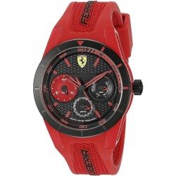 Buy Men's Scuderia Ferrari Watch Red Rev 0830258