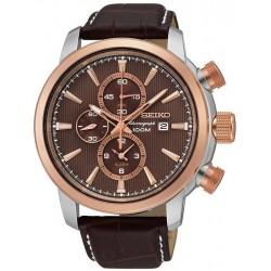 Buy Men's Seiko Watch Neo Sport Alarm Chronograph Quartz SNAF52P1