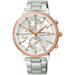 Buy Unisex Seiko Watch Neo Classic SNDW48P1 Chronograph Quartz