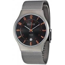 Buy Men's Skagen Watch Grenen Titanium 233XLTTMO