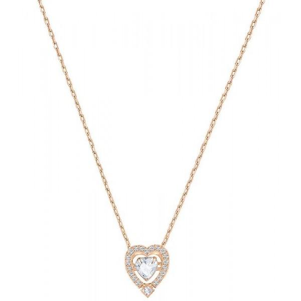 Buy Women's Swarovski Necklace Sparkling Dance Heart 5284188