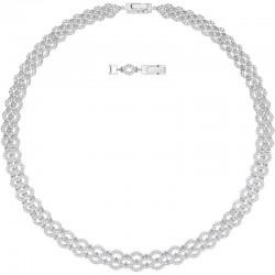 Women's Swarovski Necklace Lace Wide 5374578