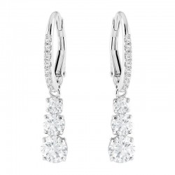 Women's Swarovski Earrings Attract Trilogy Round 5416155