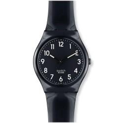 Buy Unisex Swatch Watch Gent Black Suit GB247