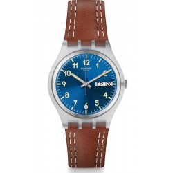 Men's Swatch Watch Gent Windy Dune GE709