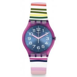 Buy Women's Swatch Watch Gent Funny Lines GP153