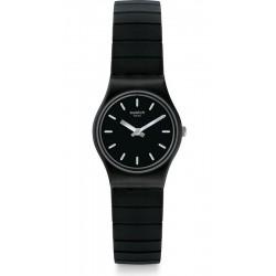 Women's Swatch Watch Lady Flexiblack S LB183B