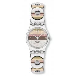Women's Swatch Watch Lady Metallic Dune LK258G