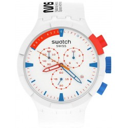 Swatch Watch Big Bold Chrono Extravehicular NASA SB04Z400