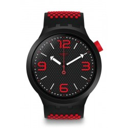 Men's Swatch Watch Big Bold BBBlood SO27B102