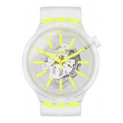 Swatch Watch Big Bold Yellowinjelly SO27E103