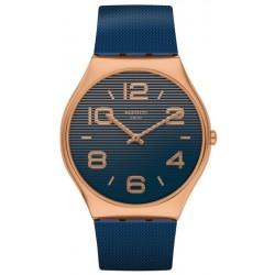 Buy Mens Swatch Watch Skin Irony Night Trick SS07G101