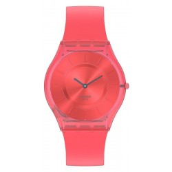 Women's Swatch Watch Skin Classic Sweet Coral SS08R100