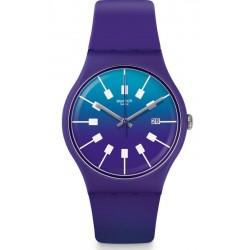 Unisex Swatch Watch New Gent Crazy Sky SUOV400
