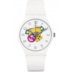 Unisex Swatch Watch New Gent Candinette SUOW148