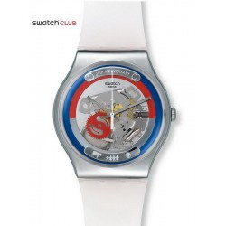 Buy Unisex Swatch Club Watch New Gent This Is My World SUOZ195
