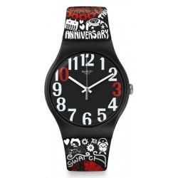 Buy Unisex Swatch Club Watch New Gent 30 And Ticking SUOZ322