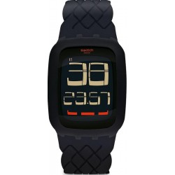 Men's Swatch Watch Digital Touch Tress Code SURB121