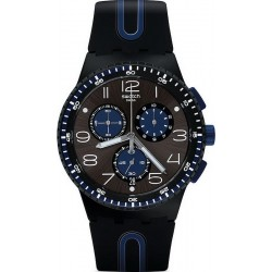 Men's Swatch Watch Chrono Plastic Kaicco SUSB406 Chronograph
